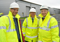 VEOLIA WATER UK CHIEF EXECUTIVE VISITS PROJECT OMEGA